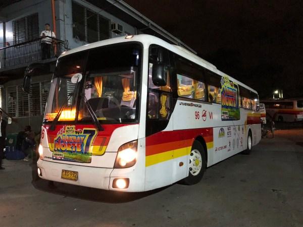 Lakbay Norte 7 Bus at Victory Liner Cubao Terminal