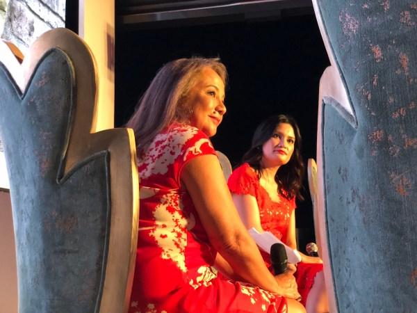 Maan Hontiveros and Daphne Ocena Paez