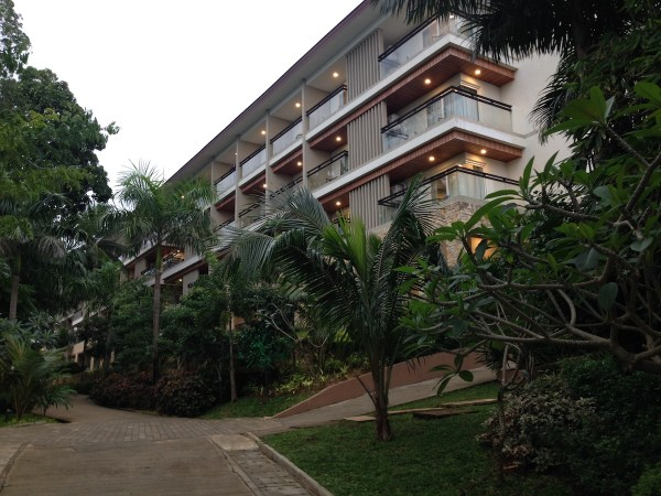 Mövenpick Boracay's 312 rooms are spread all throughout the cove in these modern designed buildings.