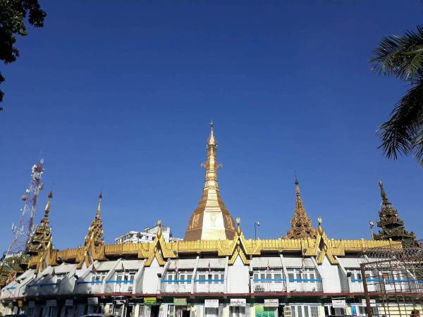 The Sule Pagoda
