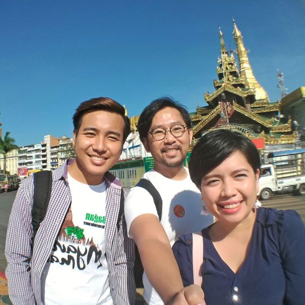 Touring Yangon with Nay La Aung, a Burmese singer and actor