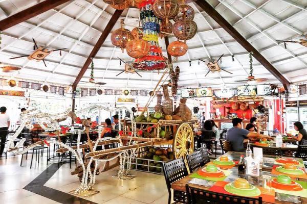 Inside Matam-Ih restaurant.