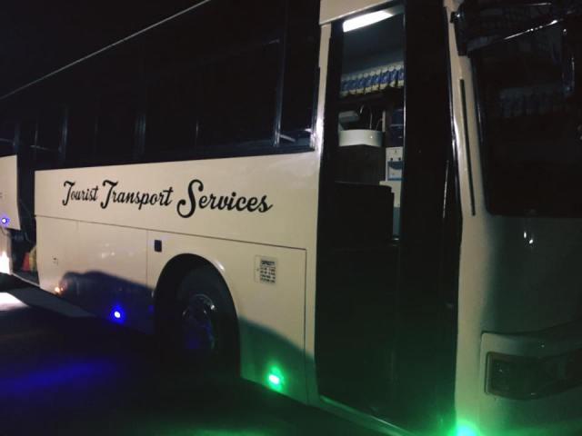 The look of the luxury bus from the outside. [Image Credit: Jelai Esquivel / Facebook]
