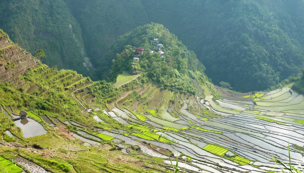 Batad Rice Terraces photo by Jacques Beaulieu via Flickr Creative Commons