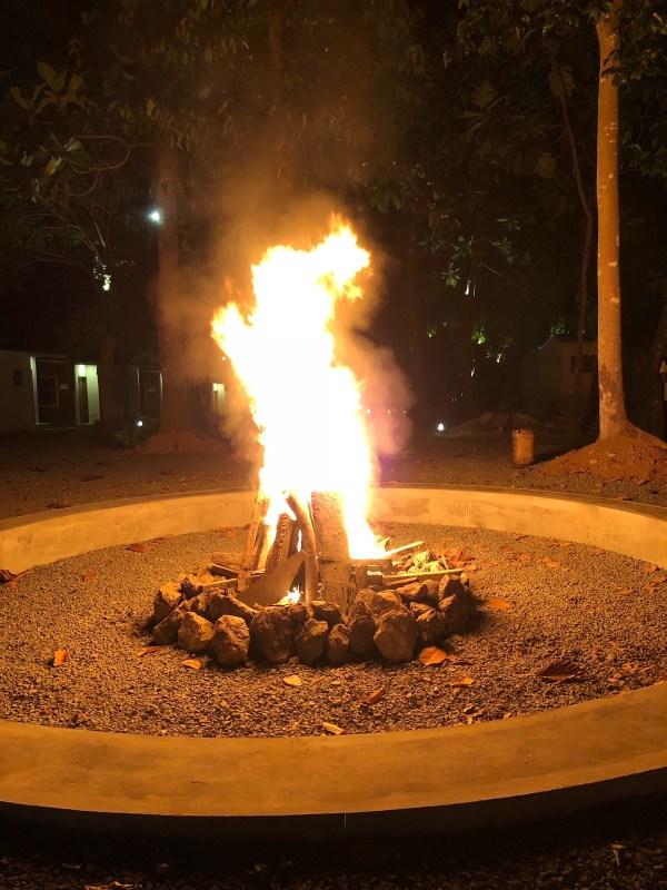 Bonfire Place for Team Building