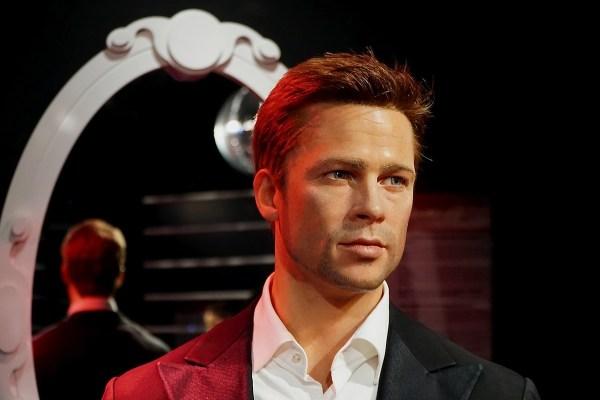 Brad Pitt Madam Tussauds Hong Kong