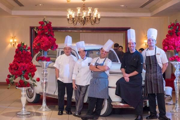 Chefs of Waterfront Cebu City Hotel and Casino photo via FB Page