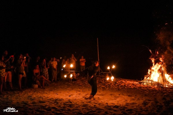 Firedance performance at our last night in the island.