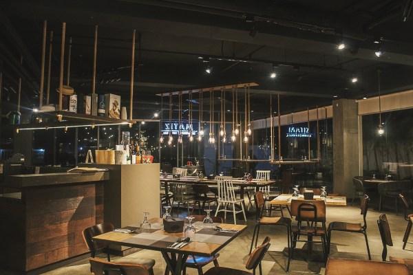 Inside Matiz Tapas Bar and Restaurant.