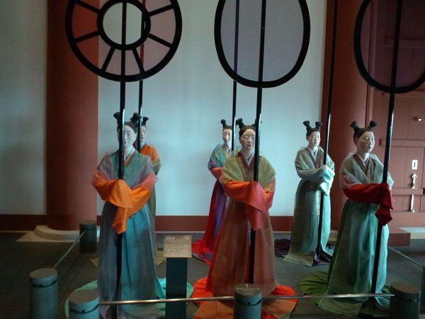 Inside Osaka Museum of History via Wikipedia