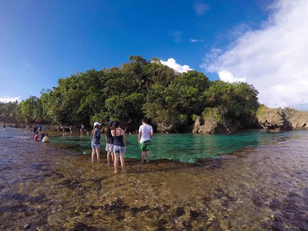 Magpupunko Tide Pool in Pilar