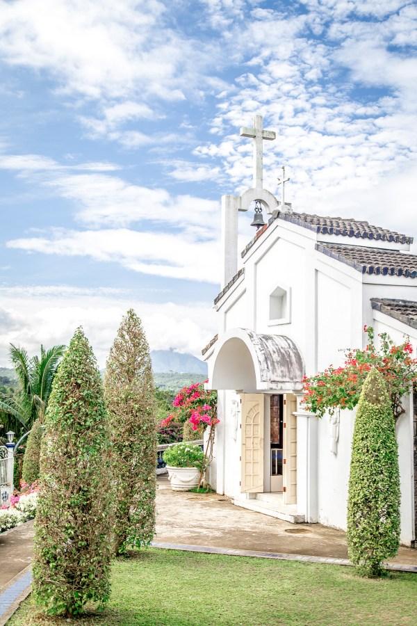 Marian Orchard Chapel Facade