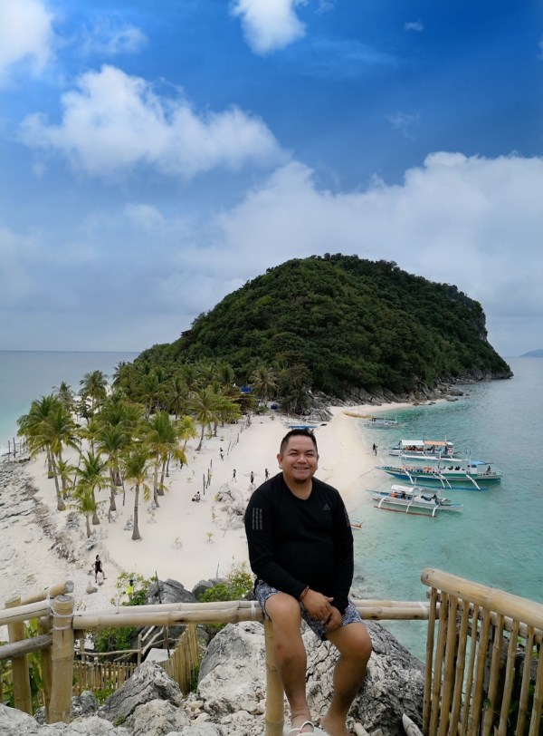 Melo in Cabugao Gamay Island