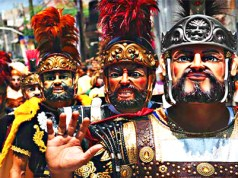 One of the biggest festivals during March is the Moriones Festival in Marinduque. [Image Credit: Travel More]