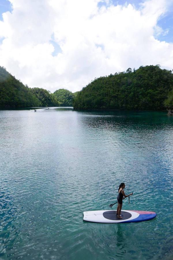 Standup Paddleboarding in Sugba Lagoon
