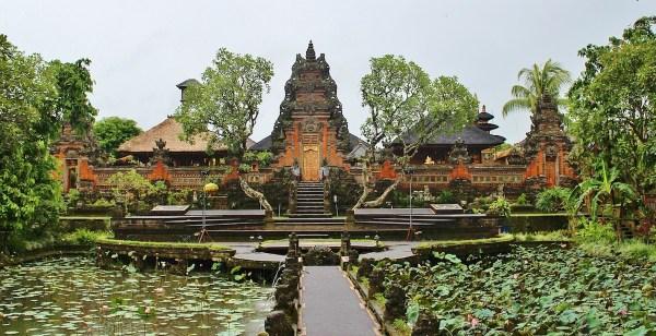 Temple in Ubud Bali