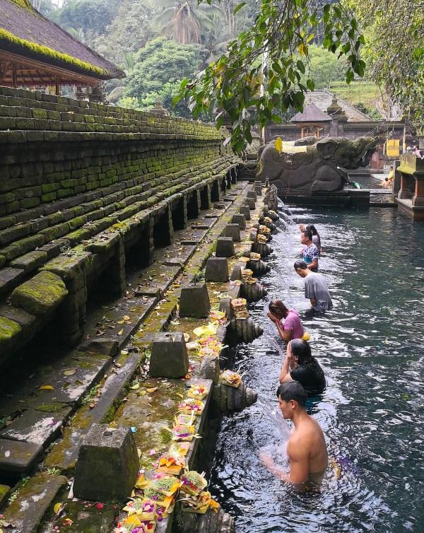 Bali Itinerary - Tirta Empul Temple