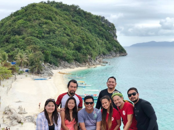Travel Bloggers in Gigantes Island