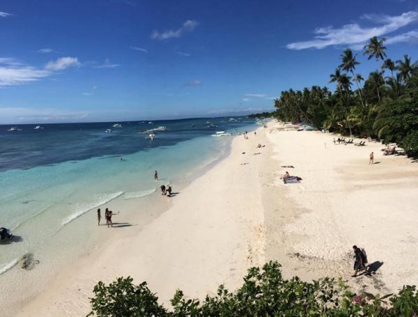 View from Amorita Bohol Poolside