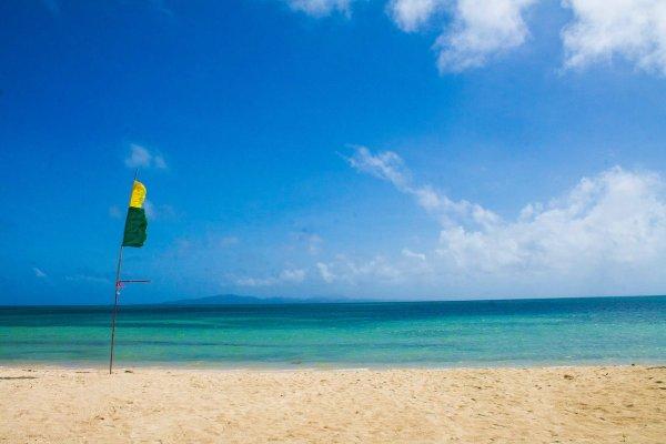 Cagbalete Beach photo via Dona Cholengs Camping Resort FB