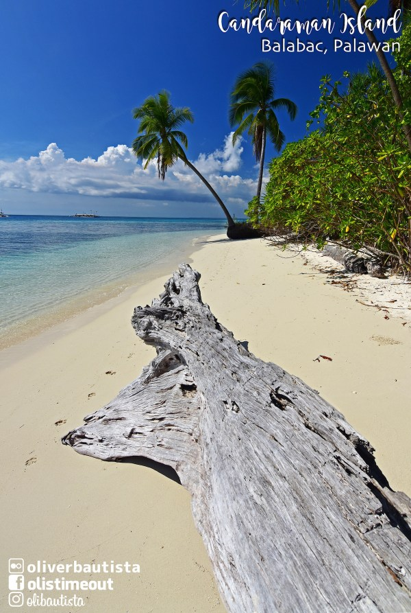 Candaraman Island in Balabac Palawan photo by Oliver Bautista