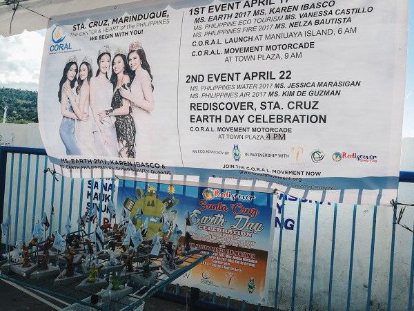 Earth day Celebration and launching of the C.O.R.A.L Movement in Sta. Cruz, Marinduque