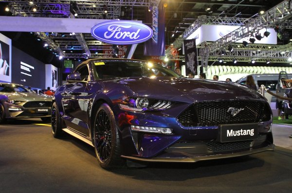 Ford All New Mustang at the Manila International Auto Show