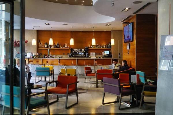 Hotel Catalonia Gran Via Lobby photo by Mark Angelo Acosta