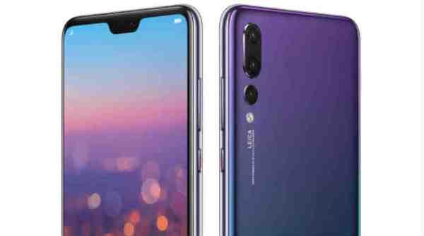 Huawei P20 Pro via SMART