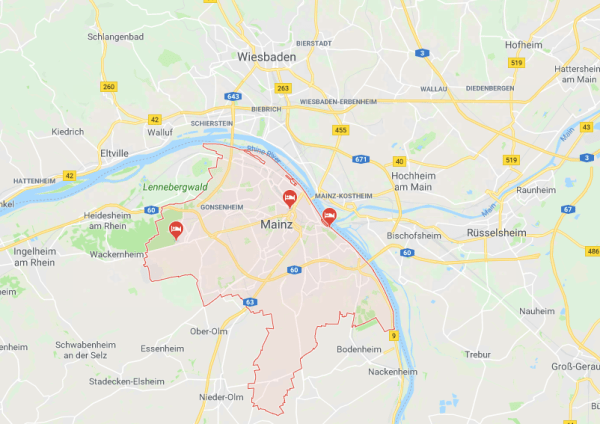 Map of Mainz Why Mainz Is Your New Go-To City