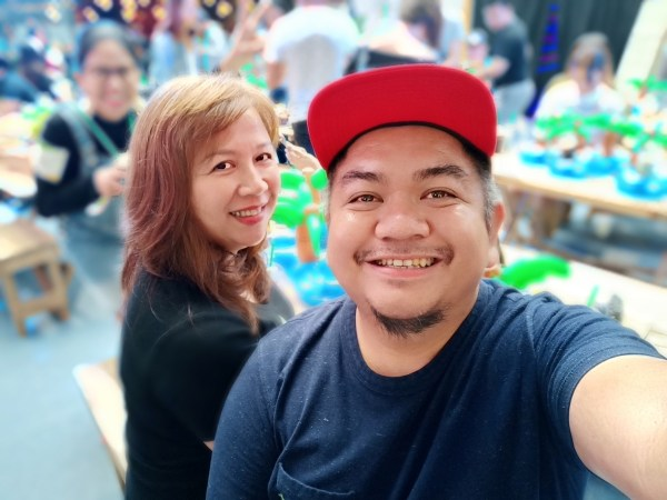 Selfie with deph of field using OPPO F7