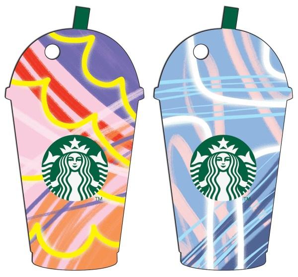 Starbucks Frappuccino Diecut Card