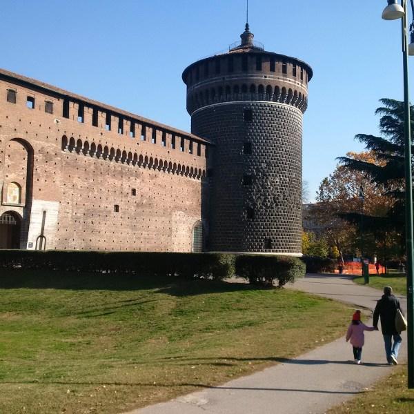 Upon entering Castle Sflorzesco