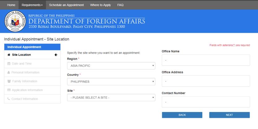 Passport applications and renewals require online registration.