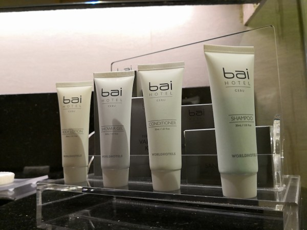 Bai Hotel Cebu Toiletries