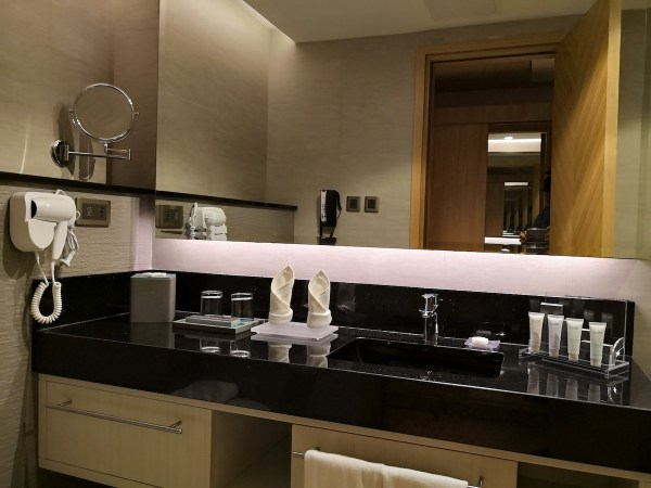 Bathroom at Bai Hotel