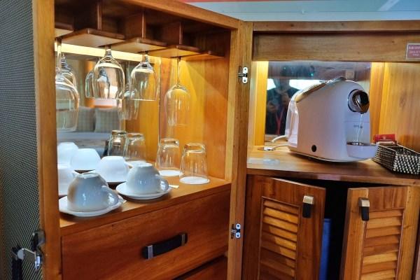 CBTL Coffee Maker at the Minibar