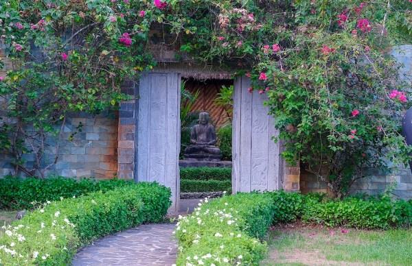 Entrance to the Buddha Garden