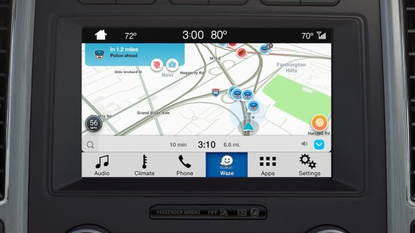 Ford adds Waze navigation to Sync 3 platform