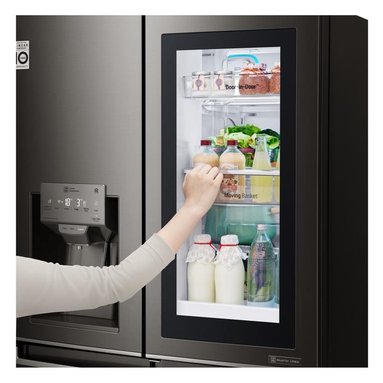 LG InstaView Door-in-Door fridge technology