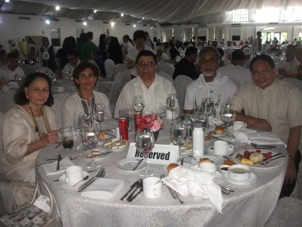 former Philippine Ambassador to Vatican Merceditas Tuazon together with Mexican Ambassador to the Philippine HE Gerardo Lozano