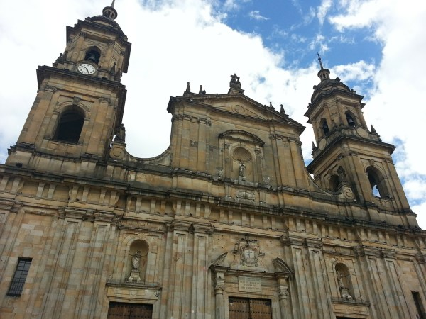 Primatial Cathedral in Bogota