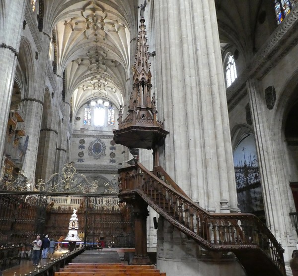 "Salamanca's magnificent ""new"" cathedral"