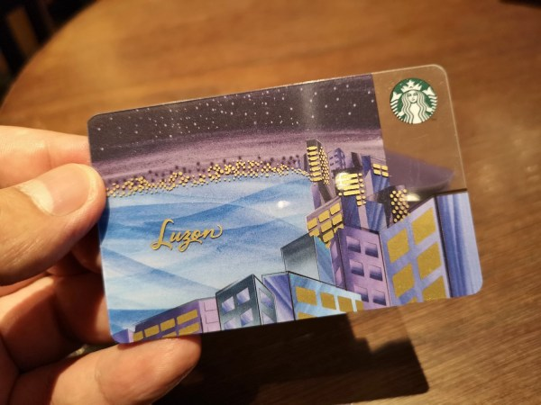 Starbucks Island Series Card