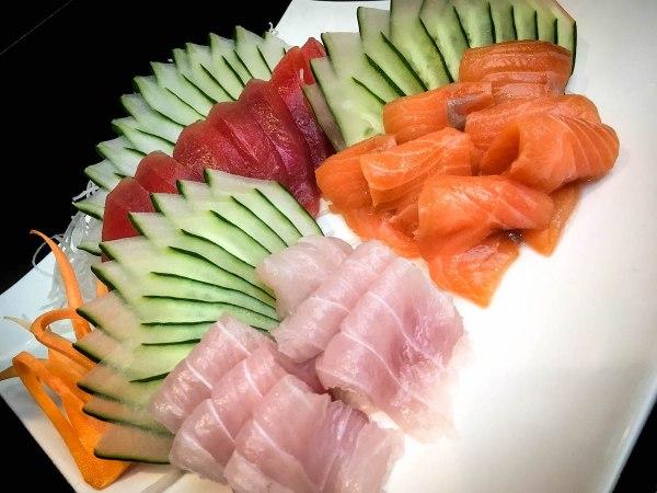 Succulent sashimi is among the staples at Kitsho.