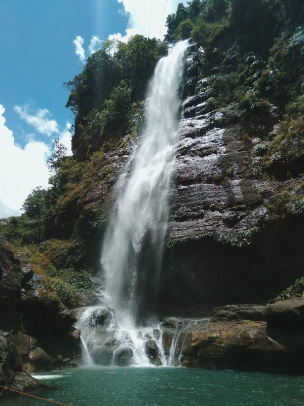 The famous Bomod-ok falls