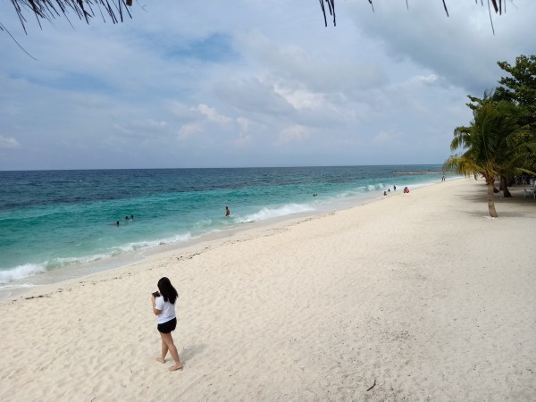 White Sand Island in Leyte