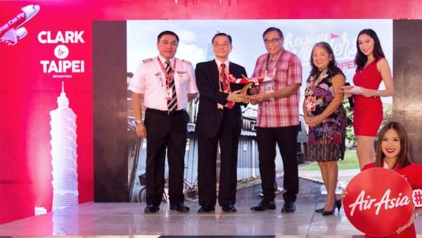 AirAsia starts flights from Clark to Taipei, Taiwan