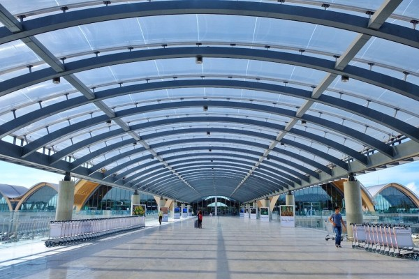 Cebu International Airport T2 Link Bridge Canopy