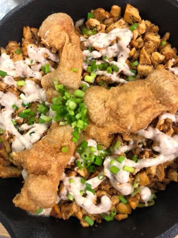 Chicken Inasal Sisig